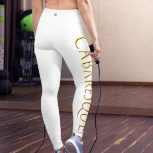 Cabaresque sports leggings (white, without front pouch)