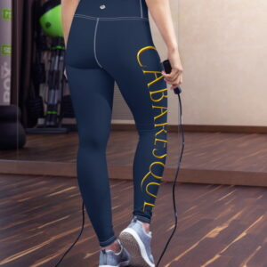 Cabaresque sports leggins (navy, without front pouch)